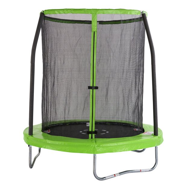 Buy Chad Valley 6ft Outdoor Kids Trampoline with Enclosure ...