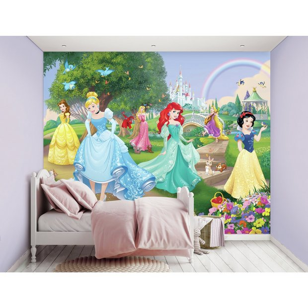 Buy Walltastic Disney Princess Mural Wallpaper Argos
