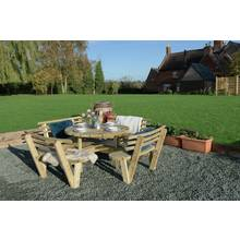 Grange Fencing Garden Table with Backrests