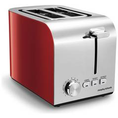 Morphy Richards 222056 Equip 2 Slice Toaster - Red