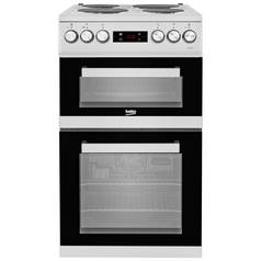 Beko KDV555AS Electric Cooker - Silver