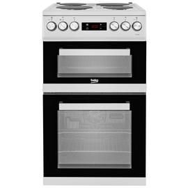 Beko KDV555AS 50cm Double Oven Electric Cooker