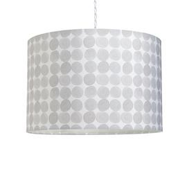 Habitat Skandi Dots Printed Shade - Grey