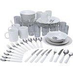more details on HOME Essentials 60 Piece Dinner Starter Set - White.