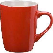 Argos Home Set of 4 Stoneware Mugs - Poppy Red