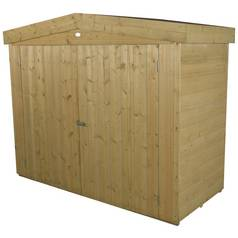 Forest Shiplap Apex Large Outdoor Store - 2000 Litre