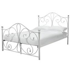 Argos Home Marietta Small Double Bed Frame - White
