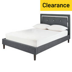 Argos Home Evangeline Double Bed Frame - Charcoal