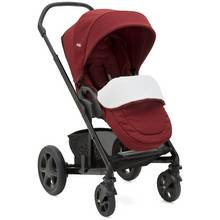 Joie Cranberry Chrome DLX Pushchair & Carrycot
