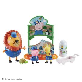Peppa's Day at the Zoo Book Playset