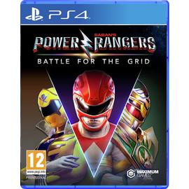 Power Rangers: Battle for the Grid PS4 Game