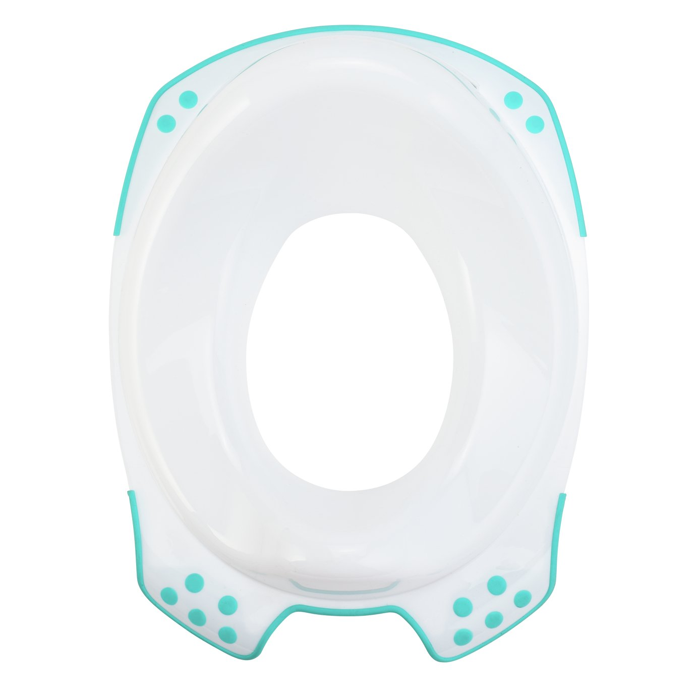 Glenmore Baby Toliet Potty Mini Toilet Shaped Like Pottys Soft Cushioned with Lid for Kids Boys Girls Green