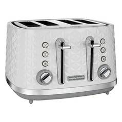 Morphy Richards 248134 Vector 4 Slice Toaster - White
