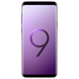 SIM Free Samsung Galaxy S9+ 128GB Mobile Phone- Lilac Purple