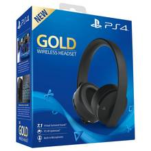 Sony GOLD Wireless PS4 Headset - Black