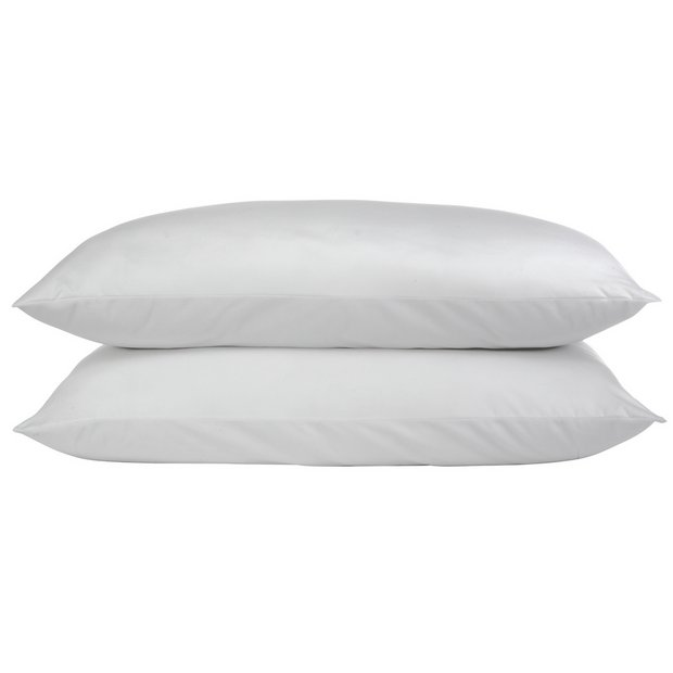 Buy Argos Home Duck Feather Pillow 2 Pack Limited Stock Home And Garden Argos