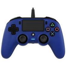 PS4 Nacon Wired Compact Controller - Blue