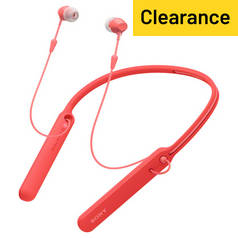 Sony WI-C400 In-Ear Wireless Headphones - Red