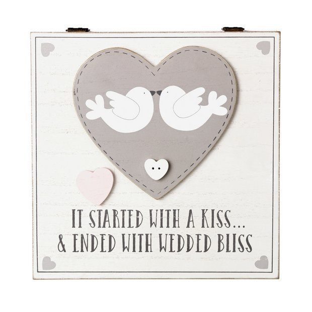 Buy Wedding Keepsake Box Novelty Gifts Argos