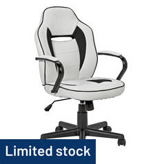 Argos Home Mid Back Gaming Chair