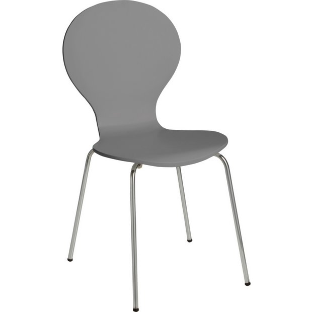 Awesome Buy Argos Home Bentwood Metal Dining Chair Jet Grey Dining Chairs Argos Machost Co Dining Chair Design Ideas Machostcouk