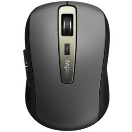 Rapoo MT350 Multi-Mode Optical Wireless Mouse - Black