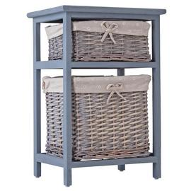 Argos Home Willow 2 Drawer Storage Unit - Grey