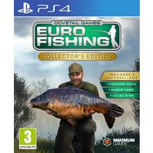 Euro Fishing Sim Collector Edition PS4 Game