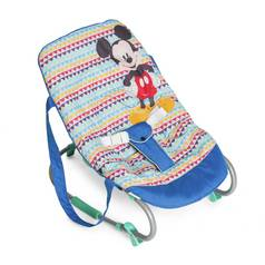 Disney Baby Mickey Mouse Baby Bouncer - Geo Blue