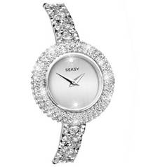 Seksy Ladies' Swarovski Crystal Fine Rocks Watch