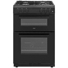 Bush BGC60TB Twin Gas Cooker - Black