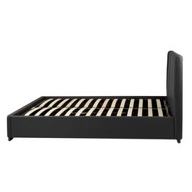 Argos Home Austen Double Ottoman Bed Frame - Black
