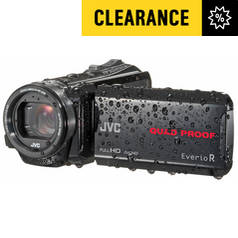 JVC R435 HD Waterproof Camcorder - Black