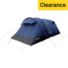 Regatta Karuna 6 Man 3 Room Tent - Nautic Laser