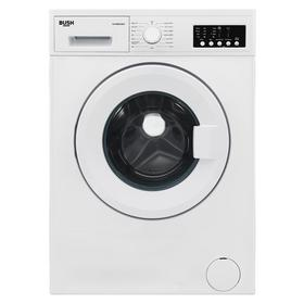 Bush WMNB812EW 8KG 1200 Spin Washing Machine - White Best Price, Cheapest Prices