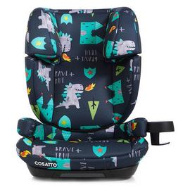 Cosatto Skippa Fix Group 2/3 Dragons Car Seat -Multicoloured