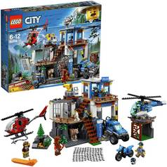 LEGO City Police Mountain Headquarter Toy Helicopter - 60174