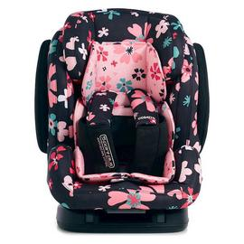 Cosatto Hug Group 1/2/3 ISOFIX Petals Car Seat-Multicoloured
