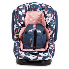 Cosatto Hug Group 1/2/3 ISOFIX Unicorns Car Seat - Multi