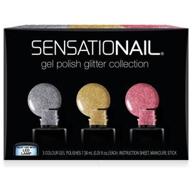 SensatioNail Glitters Collection - 3 Pack