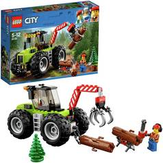 LEGO City Vehicles Forest Tractor Construction Toy - 60181
