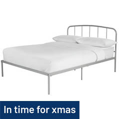 Argos Home Freja Double Bed Frame - Grey
