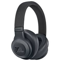 JBL E65BTNC On-Ear Wireless Headphones - Black