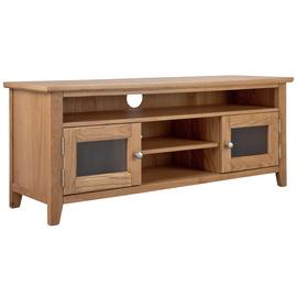 Argos Home Islington 2 Door Oak Veneer TV Unit