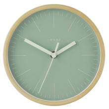 Jones Cabin Wall Clock - White & Green