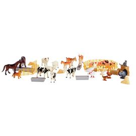 Chad Valley Farm Figures Bucket - 50 Piece
