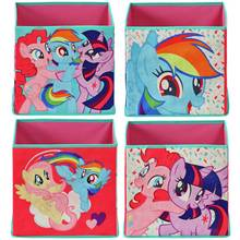 My Little Pony Set of 4 Fabric Storage Cubes