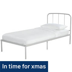 Argos Home Freja Single Bed Frame - Grey