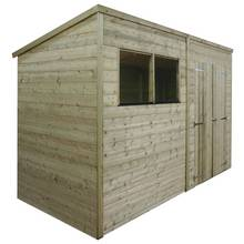 Mercia Pressure Treated Pent Shed - 10 x 8ft