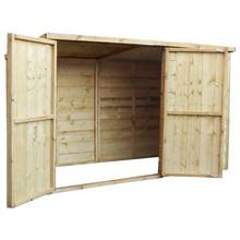 Mercia Shiplap Pent Bike Store - 3 x 6ft